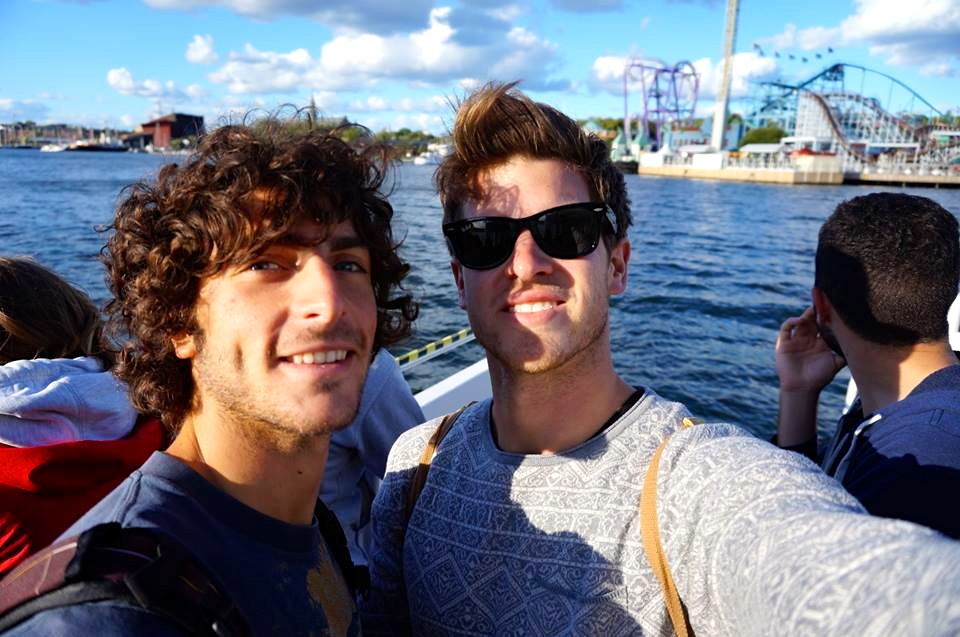 ...yes we love boat trips and yes we are aware that we look like tourists...