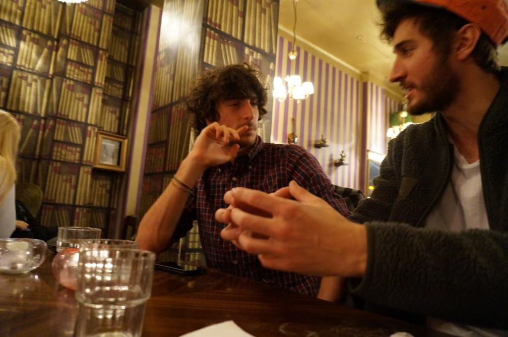 coffeeshop philosophers at work