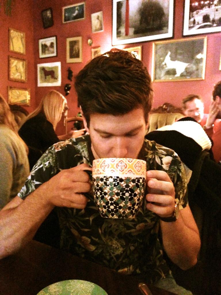 pattern overload. i love fruit tea!