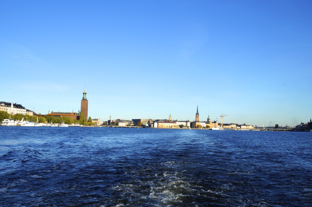 the boat tour started from the port next to kungsträdgarden in front of the grand hotel. some say the best way to see the beauty of stockholm is from the water
