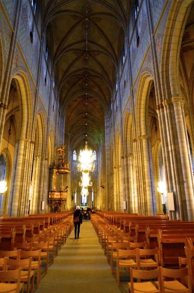 of course we also wanted to see the cathedral from inside