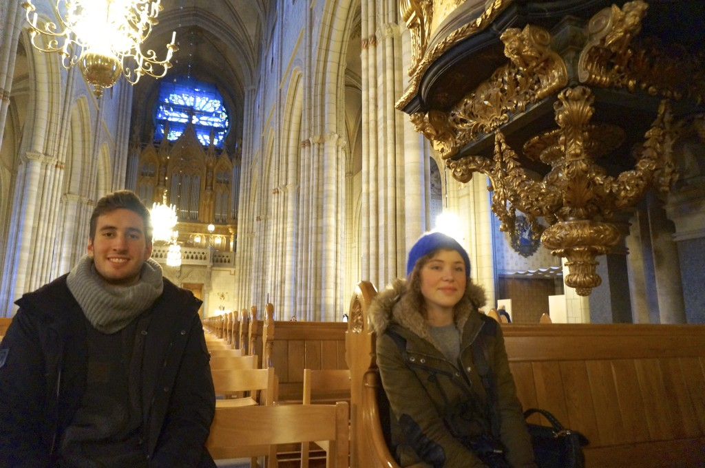 i had some interesting talks about religion and belief with paul and justine