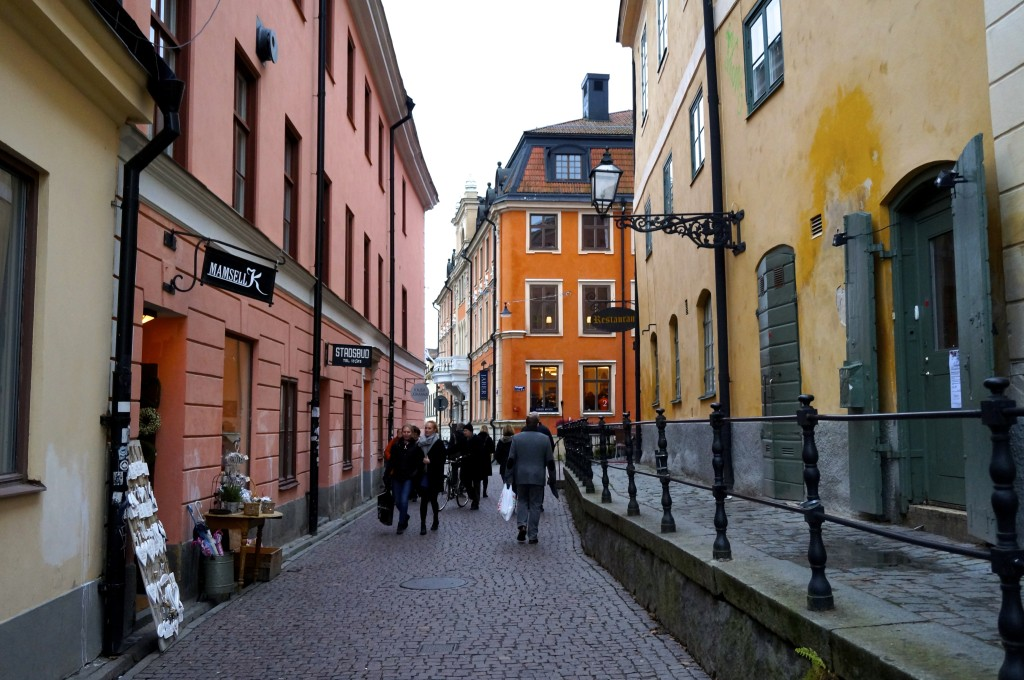 strolling through the alleys of uppsala