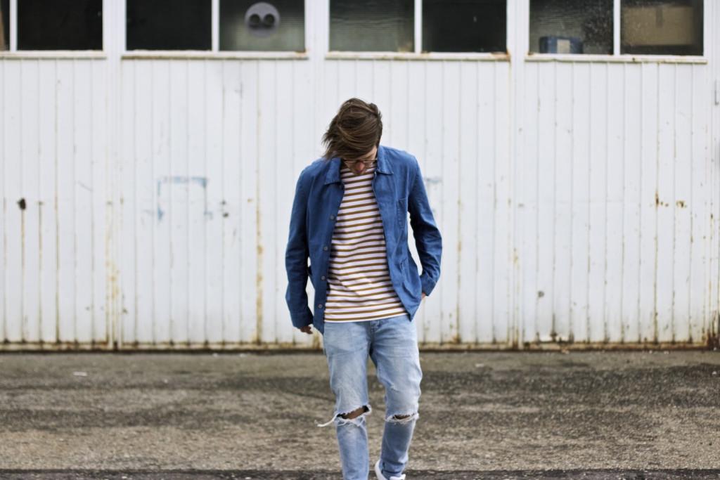 meanwhileinawesometown modeblogger denim and stripes outfitpost herrenmode frühlingstrends 2016 hm neuw denim adidas originals 12
