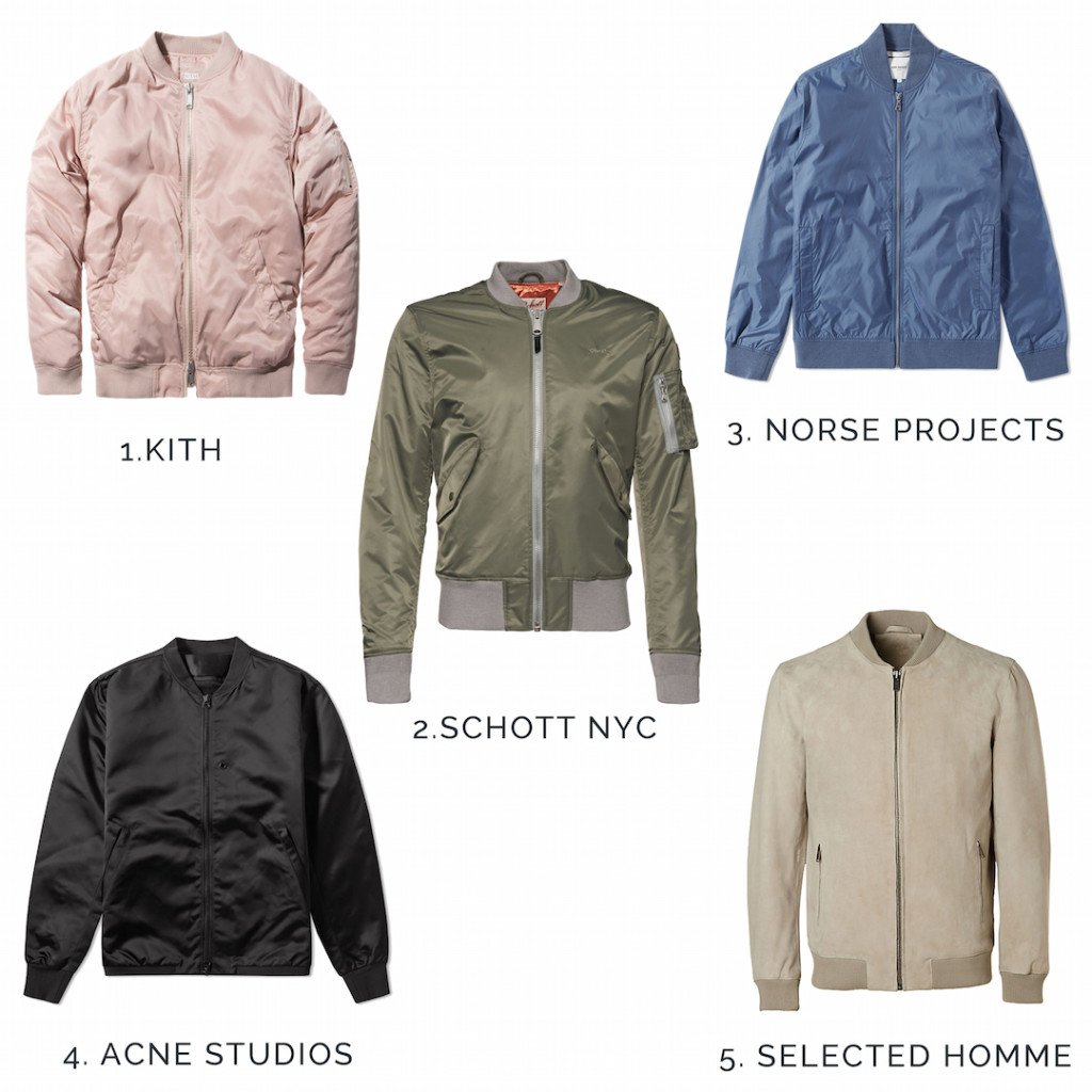 meanwhileinawesometown | mens fashion and style blog | 5 bomber jackets you need this spring