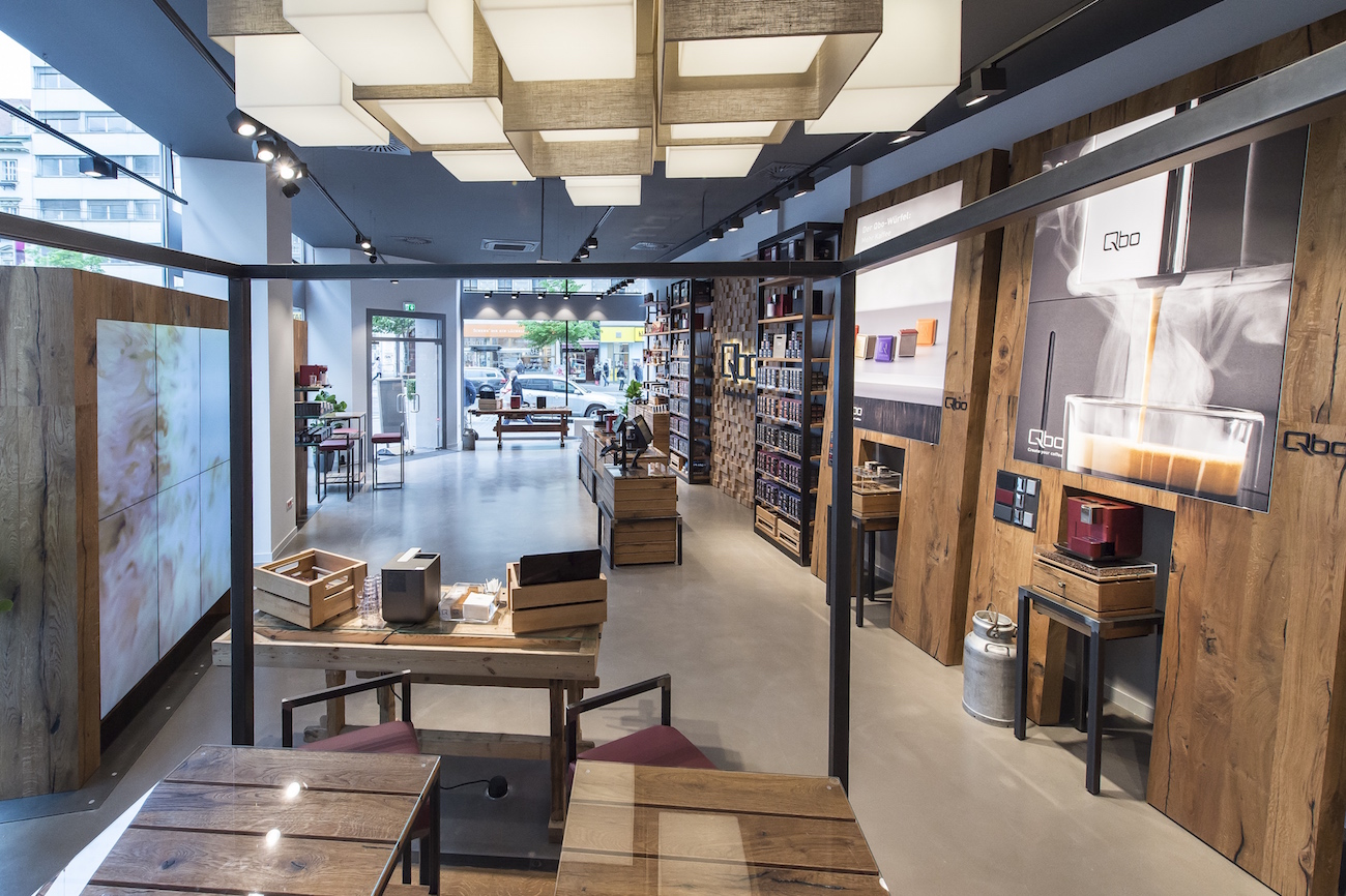 Attention Coffeelovers – Qbo Coffee Opens Store at Landstraße Hauptstraße