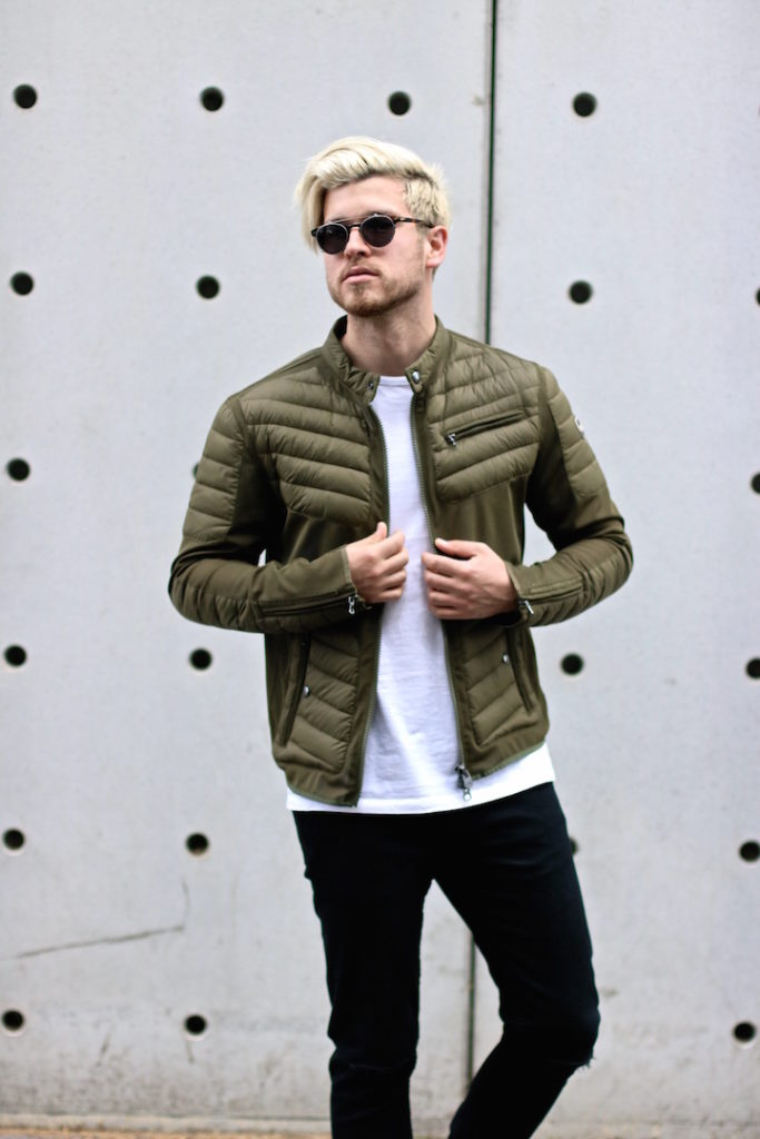 meanwhile in awesometown mens fashion and lifestyle blogger menswear outfit colmar summer down jacket only and sons jeans asket t-shirt ace and tate clip sunglasses_7