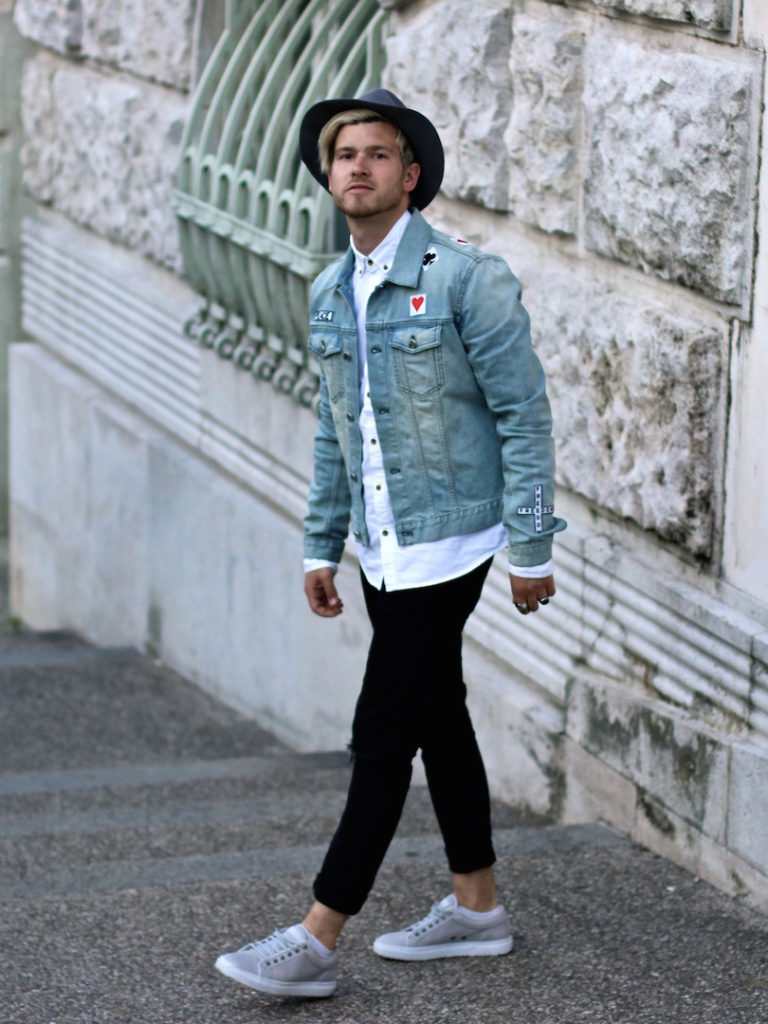 meanwhileinawesometown austrian mens fashion and lifestyle blogger only and sons ripped jeans shirt blk dnm denim jacket outfit_1