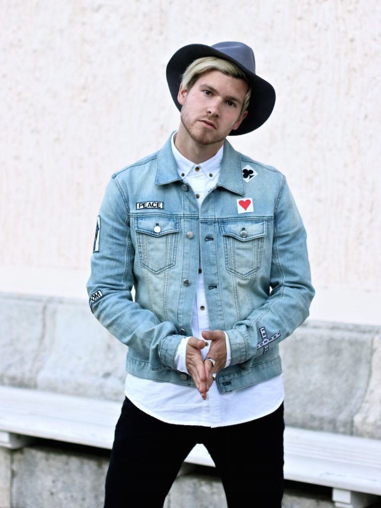 meanwhileinawesometown austrian mens fashion and lifestyle blogger only and sons ripped jeans shirt blk dnm denim jacket outfit_7
