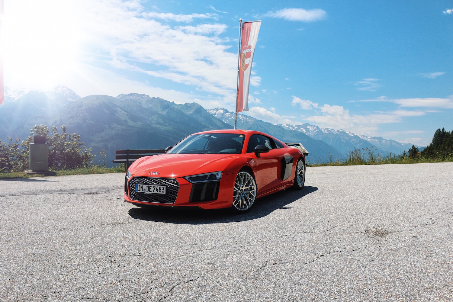 Audi R8 Tour Gerlospass Meanwhile in Awesometown Mens Fashion and Lifestyle Blogger from Austria Red Audi R8 V10_10