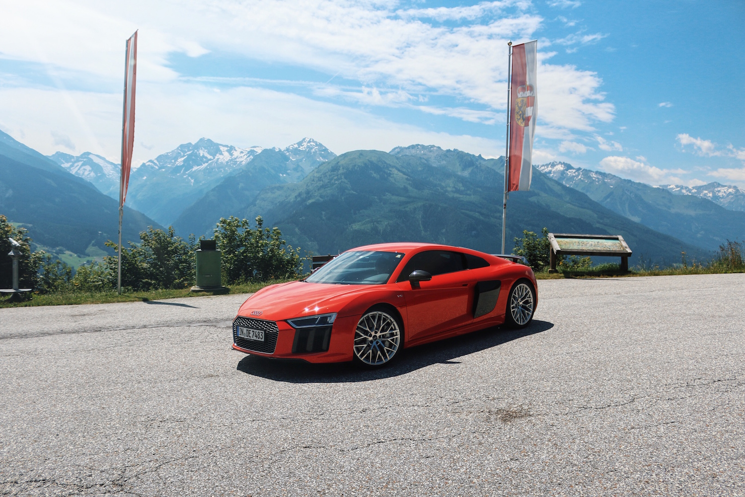 Audi R8 Tour Gerlospass Meanwhile in Awesometown Mens Fashion and Lifestyle Blogger from Austria Red Audi R8 V10_11