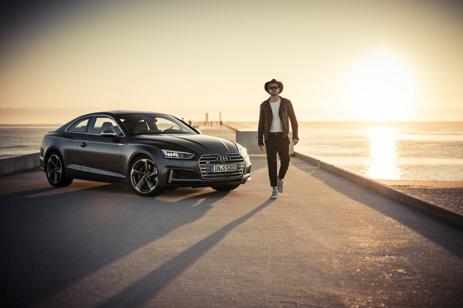 The new Audi A5 & S5 – Taking Audi's new Coupés for a spin in Northern Portugal