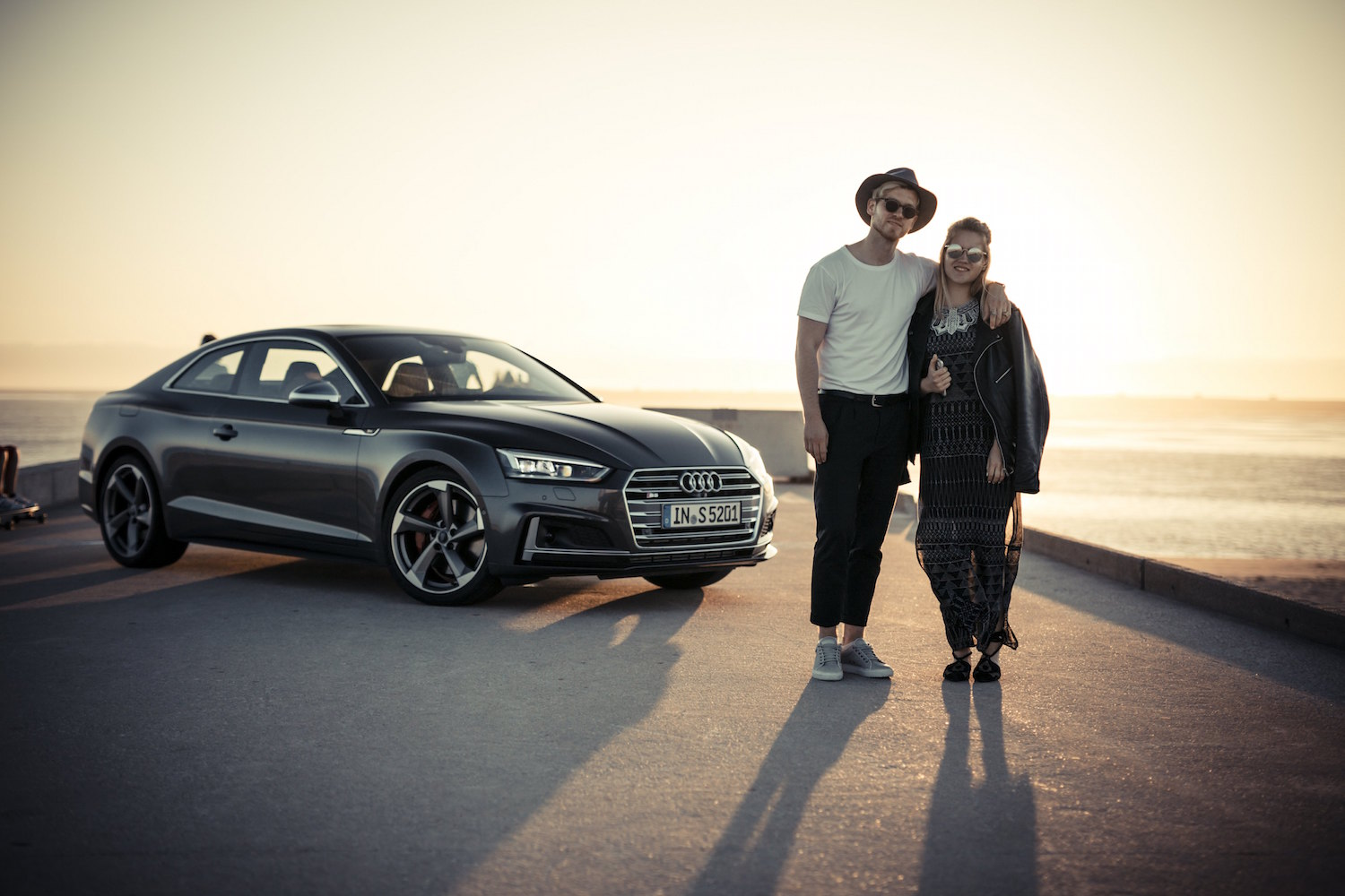 the new audi a5 and s5 coup233 testdrive in portugal and