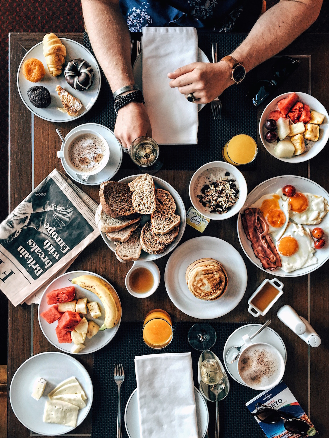 Travel-Diary_A-Long-Weekend-In-Porto_by-Meanwhile-in-Awesometown_Mens-Fashion-and-Lifestyle-Blog-from-Austria_Breakfast-at-Sheraton-Porto