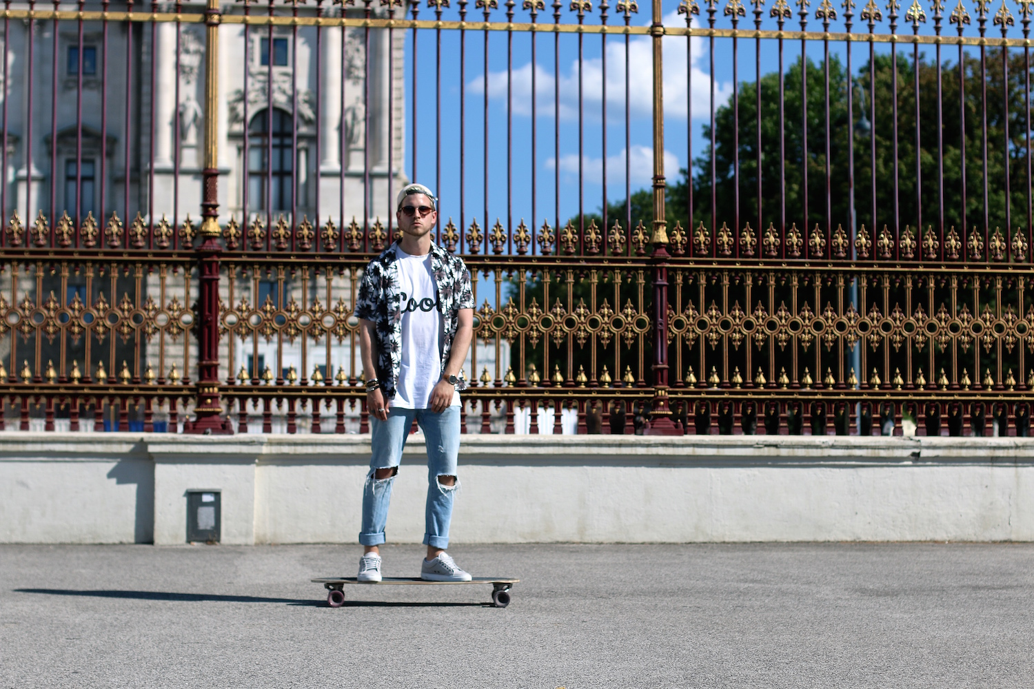 Longboarding in Style Meanwhile in Awesometown Mens Fashion and Style Blogger_2