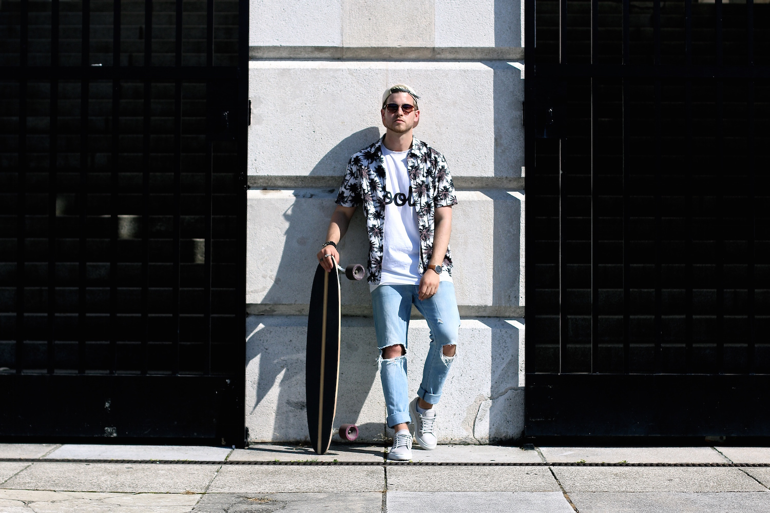 Longboarding in Style Meanwhile in Awesometown Mens Fashion and Style Blogger_4