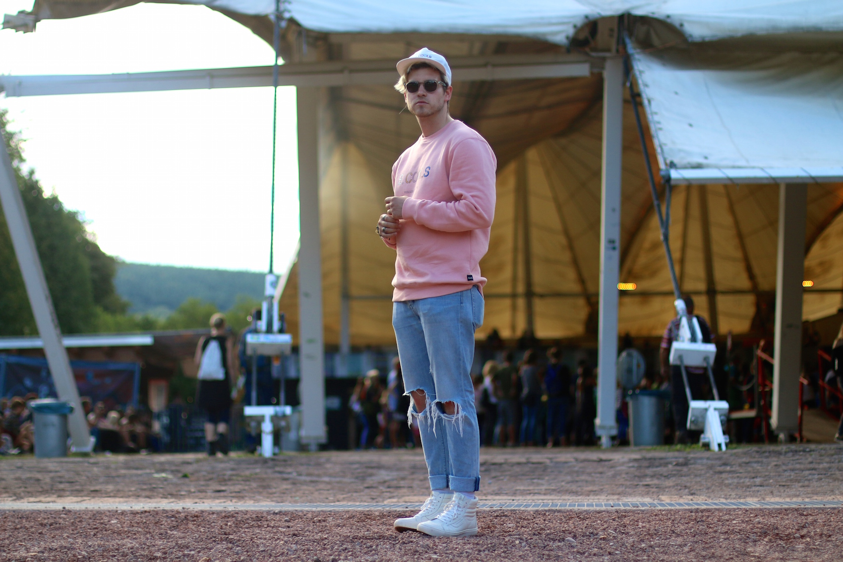 Summerville Festival Wiesen with Jack Daniels Meanwhile in Awesometown Austrian Mens Fashion and Lifestyleblogger Wien Vienna Festival Style8