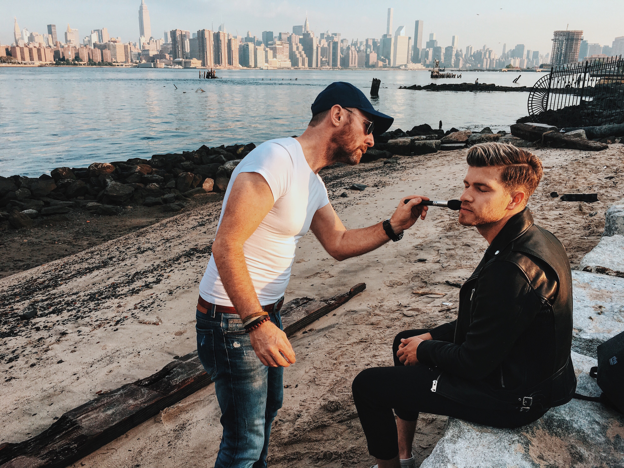 Making Of Manhattan Portage Black Label Campaign Video with Nik Pichler_ Meanwhile in Awesometown_Austrian Men's Fashion and Style Blogger