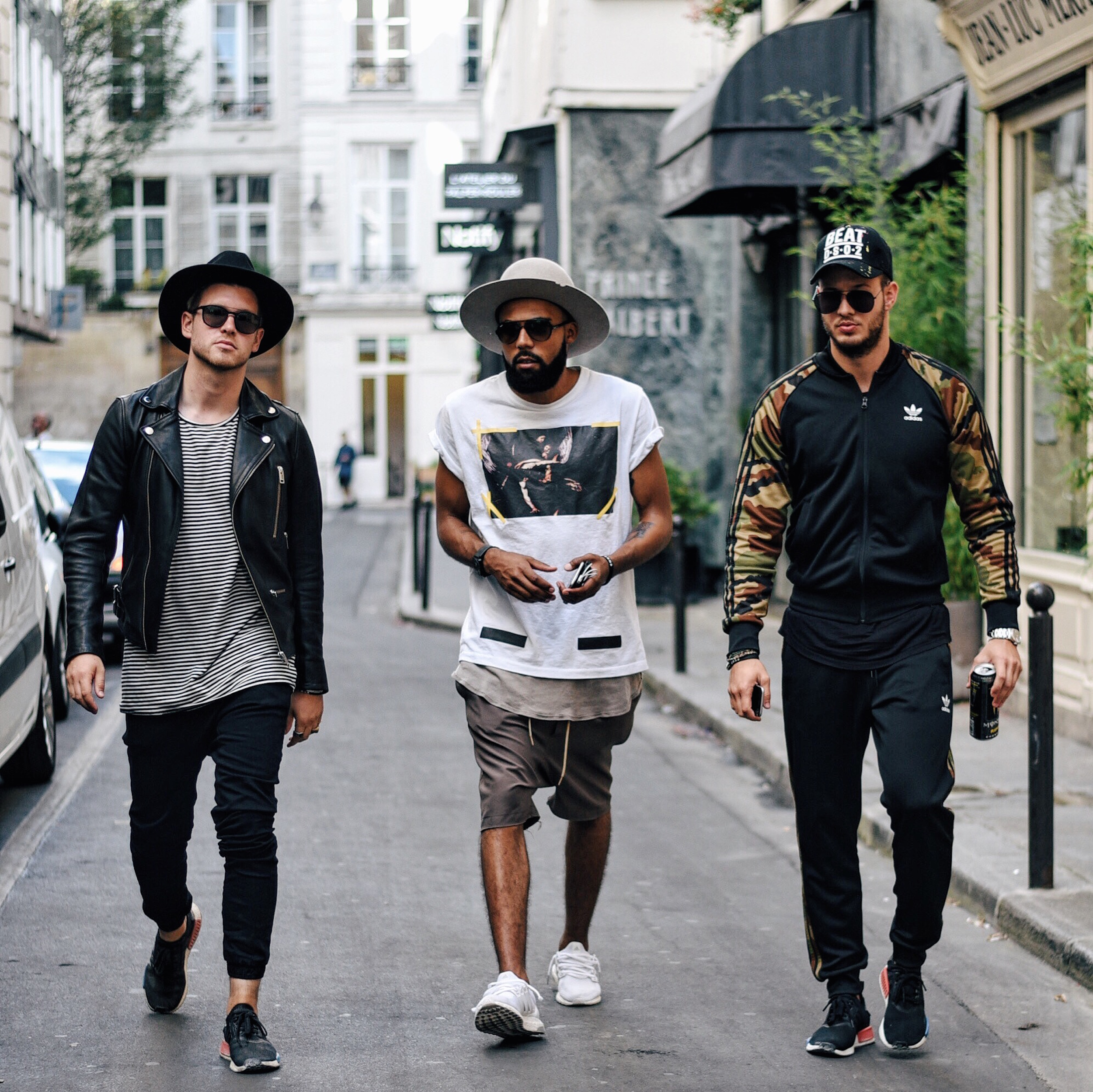 One Night in Paris | Visiting the Secret Adidas Originals