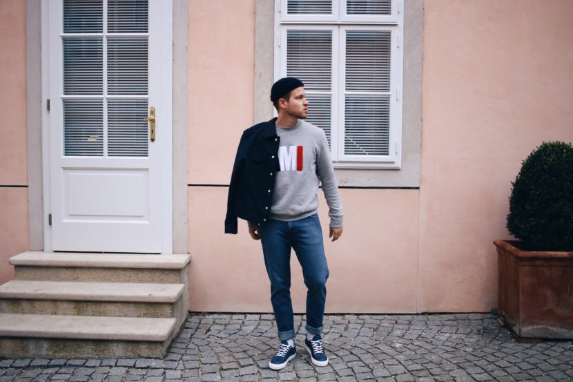 Ami Paris Sweater_Tiger of Sweden Jeans_Presidentials Amsterdam Sneakers_Outfit by Meanwhile in Awesometown_Austrian Mens Fashion and Lifestyle Blogger 9