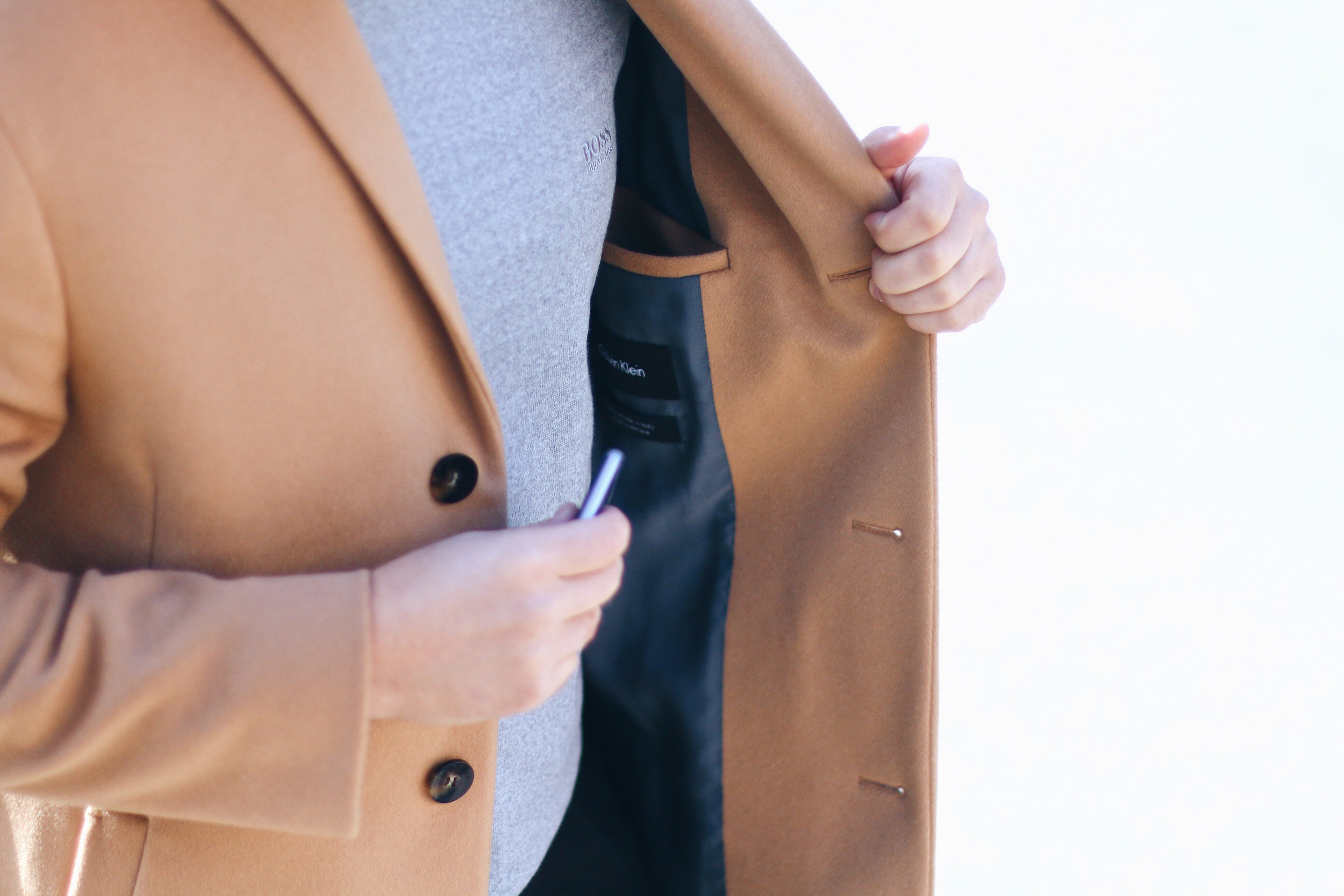 Peek & Cloppenburg Online Shop Launch Austria_Outfit Calvin Klein Camel Coat by Meanwhile in Awesometown_Austrian Mens Fashion and Lifestyle Blog
