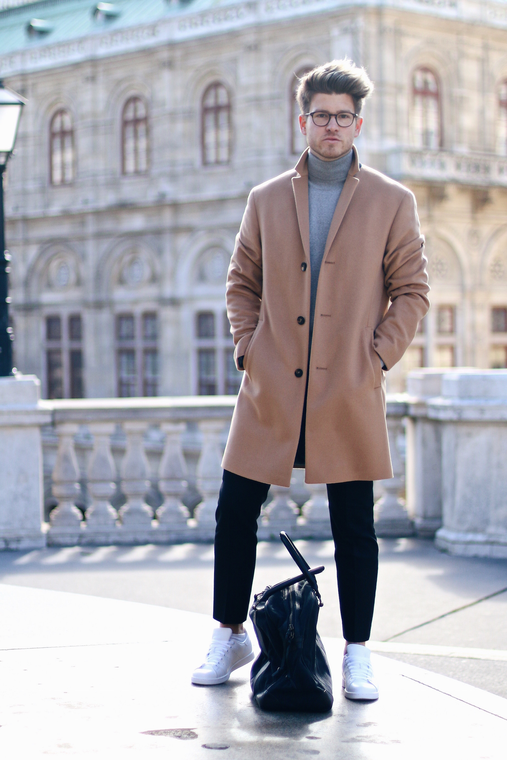Peek & Cloppenburg Online Shop Launch Austria_Outfit Calvin Klein Camel Coat by Meanwhile in Awesometown_Austrian Mens Fashion and Lifestyle Blog 9