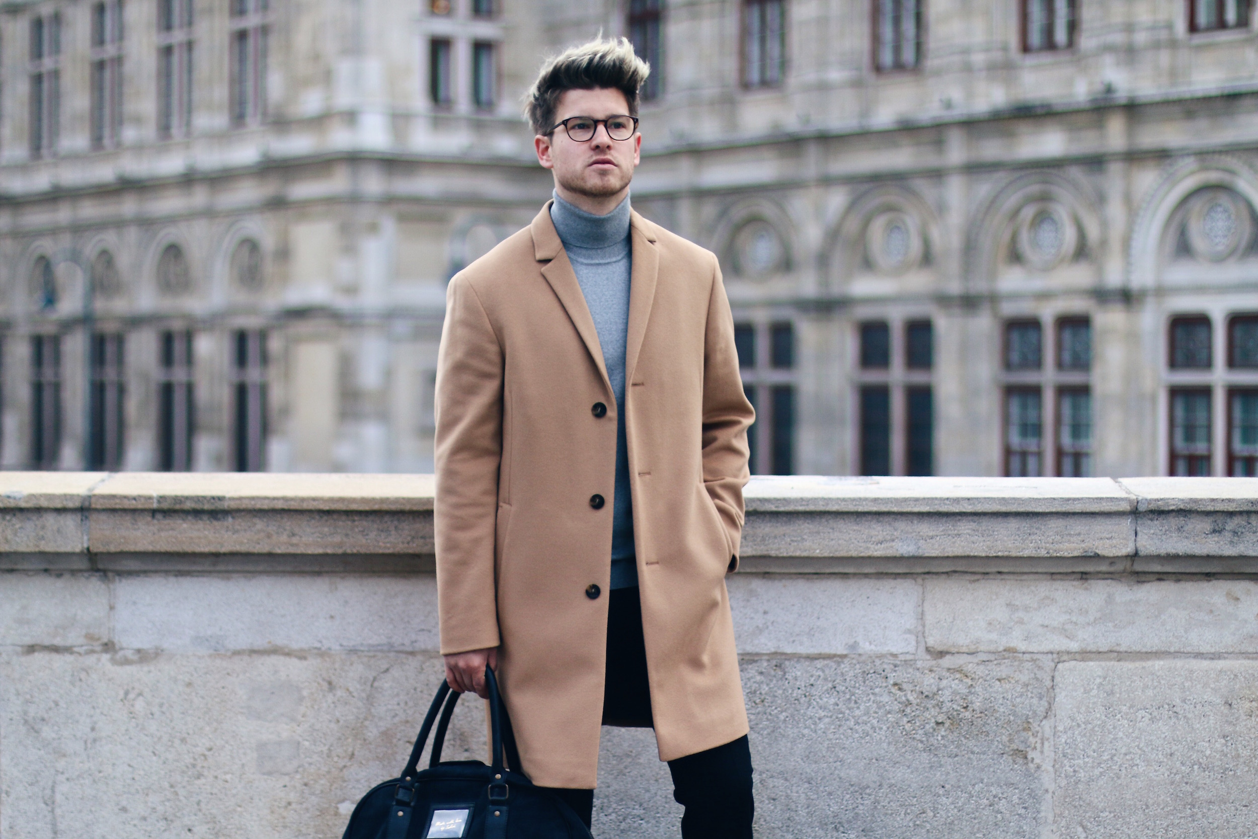 Peek & Cloppenburg Online Shop Launch Austria_Outfit Calvin Klein Camel Coat by Meanwhile in Awesometown_Austrian Mens Fashion and Lifestyle Blog 11