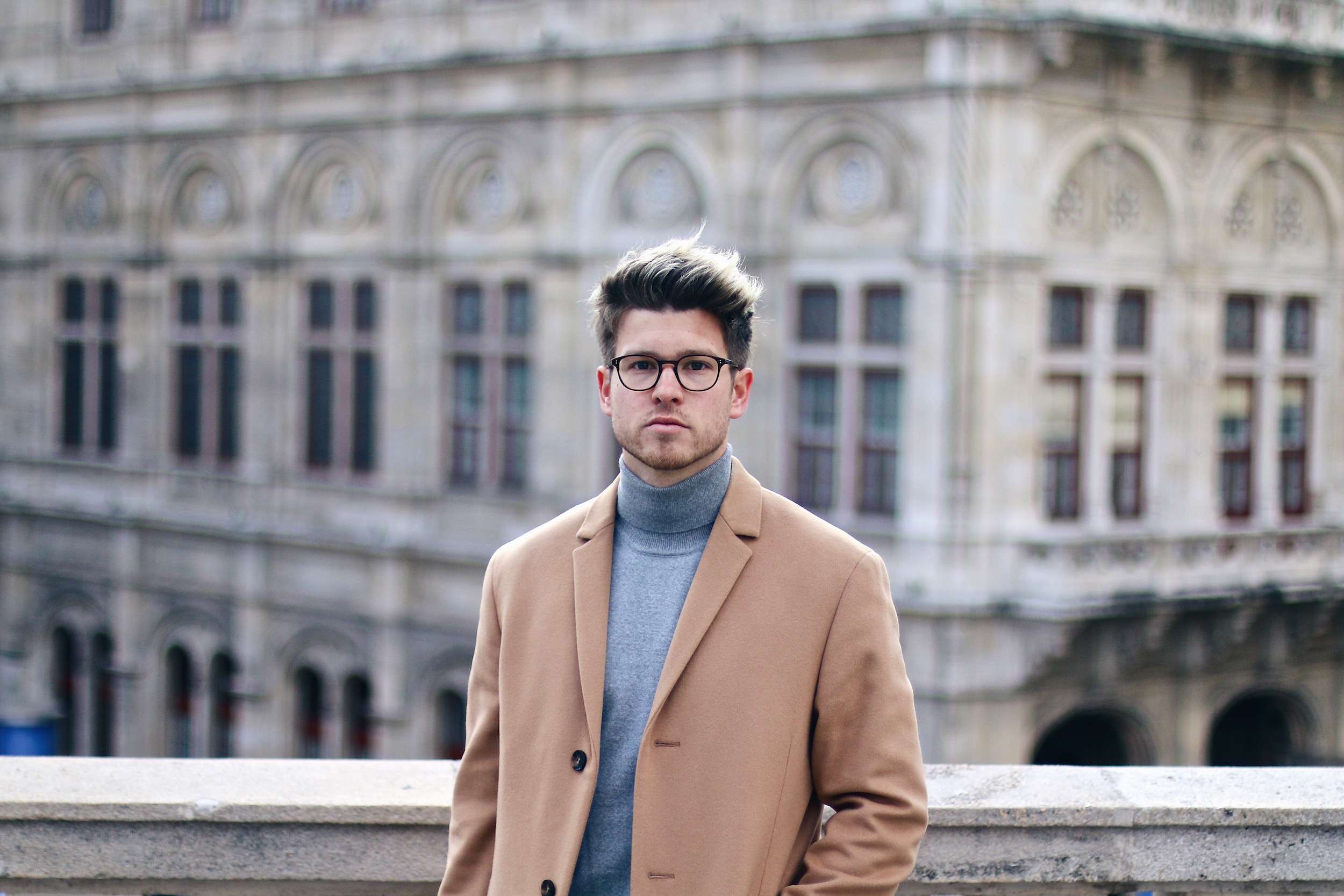 Peek & Cloppenburg Online Shop Launch Austria_Outfit Calvin Klein Camel Coat by Meanwhile in Awesometown_Austrian Mens Fashion and Lifestyle Blog 5
