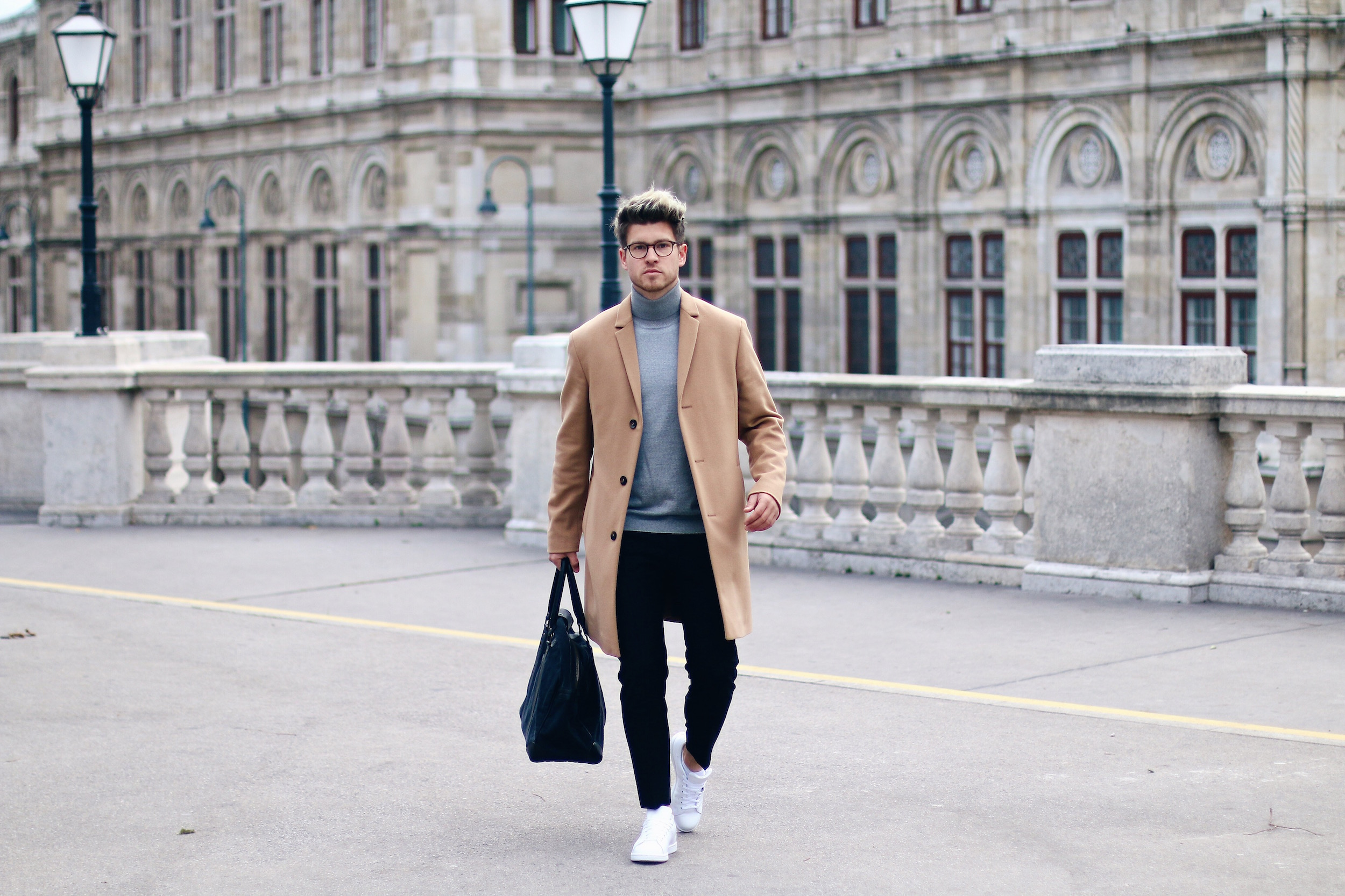 Peek & Cloppenburg Online Shop Launch Austria_Outfit Calvin Klein Camel Coat by Meanwhile in Awesometown_Austrian Mens Fashion and Lifestyle Blog 8
