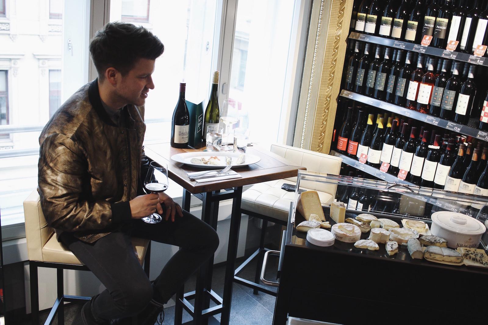 Weinbar im Merkur Hoher Markt_Restauranttest Review Weinverkostung Mittagsmenü_Wien erster Bezirk_Meanwhile in Awesometown_Wiener Männerblog Modeblog Lifestyleblog für Männer11