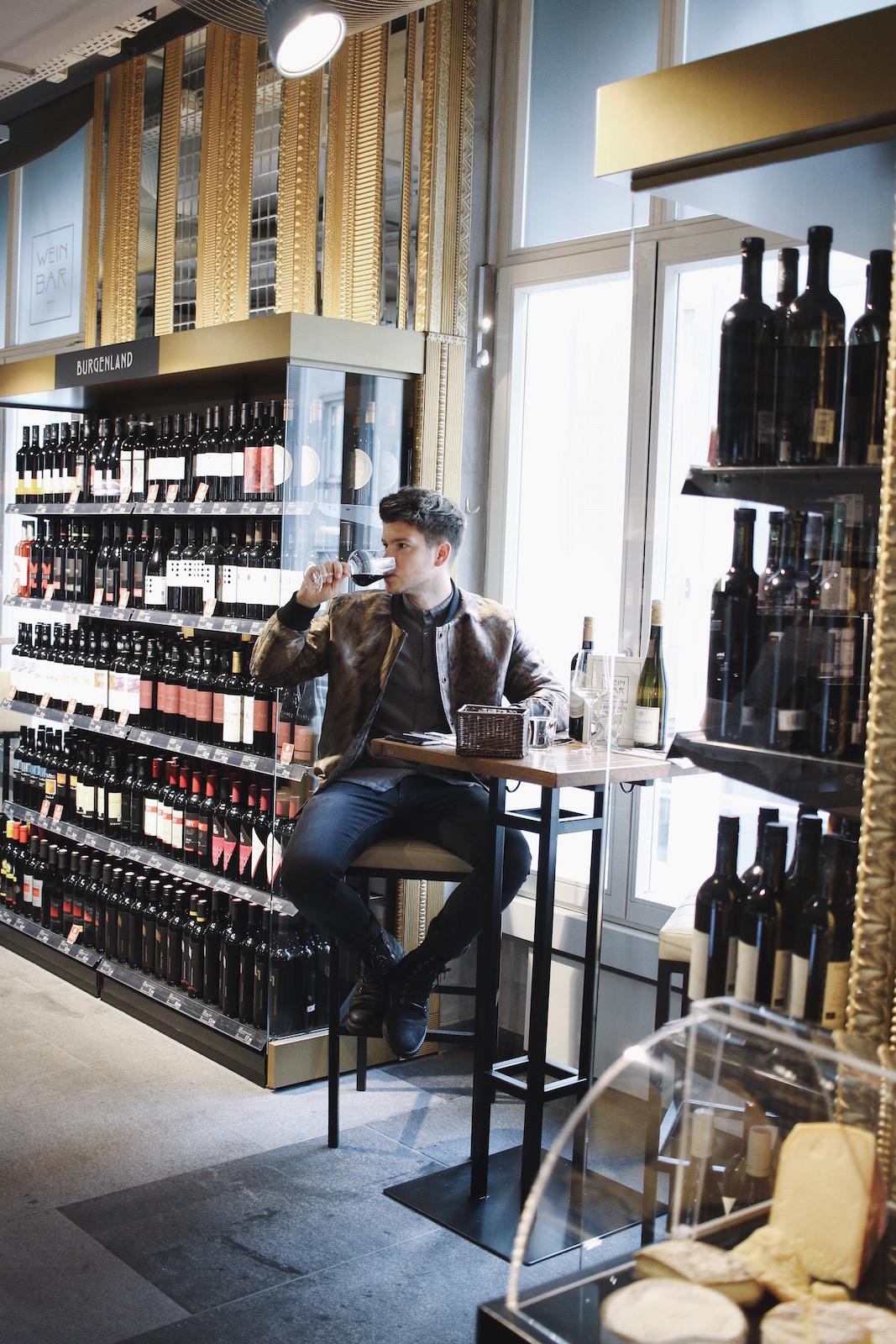 Weinbar im Merkur Hoher Markt_Restauranttest Review Weinverkostung Mittagsmenü_Wien erster Bezirk_Meanwhile in Awesometown_Wiener Männerblog Modeblog Lifestyleblog für Männer4