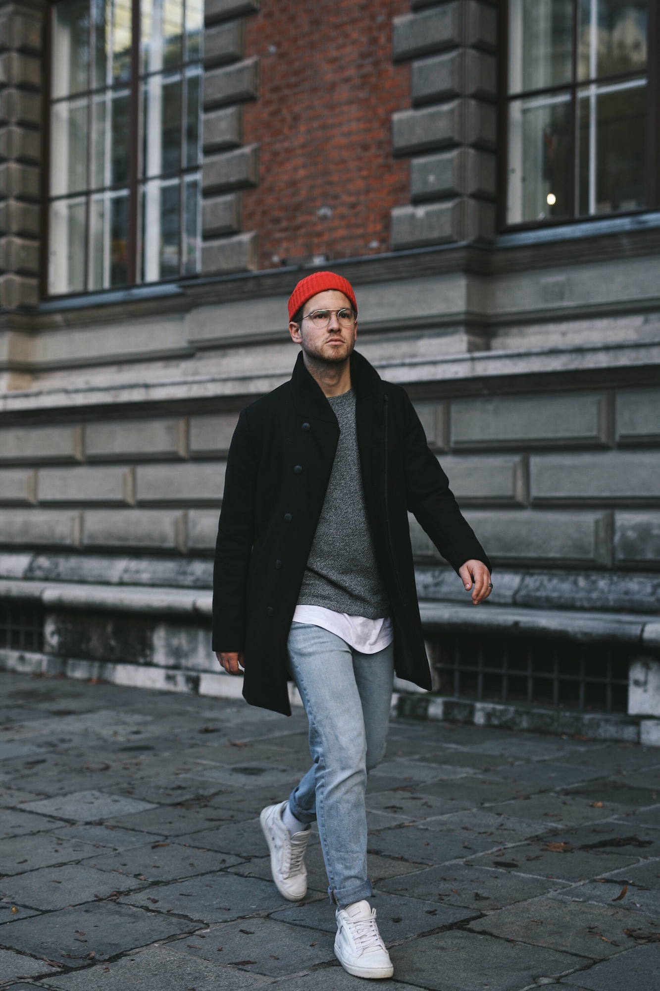 Jack and Jones Premium Mantel_Casual Sundays_Red Beanie_Meanwhile in Awesometown_Austrian Mens Fashion Blogger_Maleblogger_Wiener Blogger_Maennerblog1