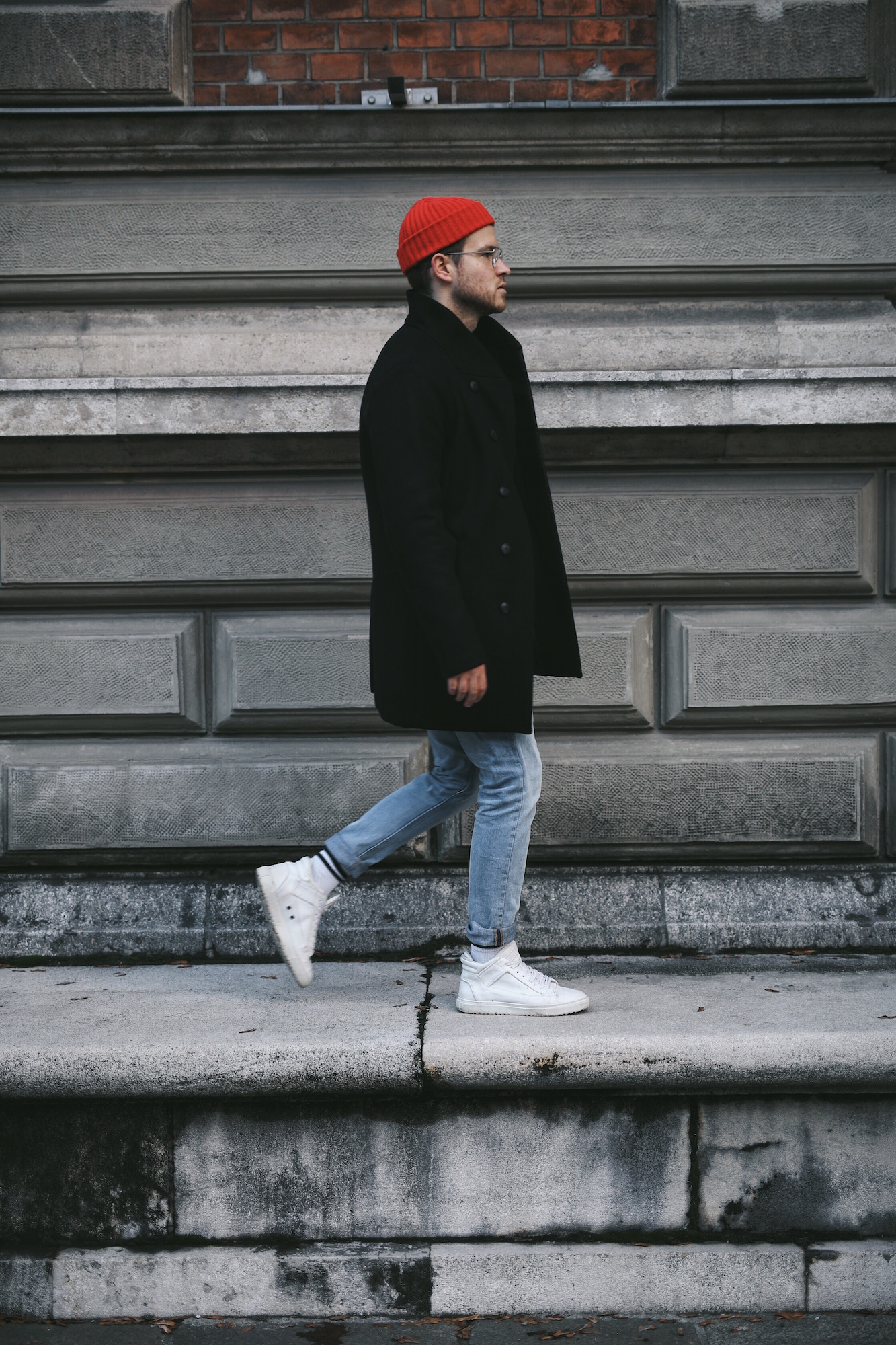 Jack and Jones Premium Mantel_Casual Sundays_Red Beanie_Meanwhile in Awesometown_Austrian Mens Fashion Blogger_Maleblogger_Wiener Blogger_Maennerblog10