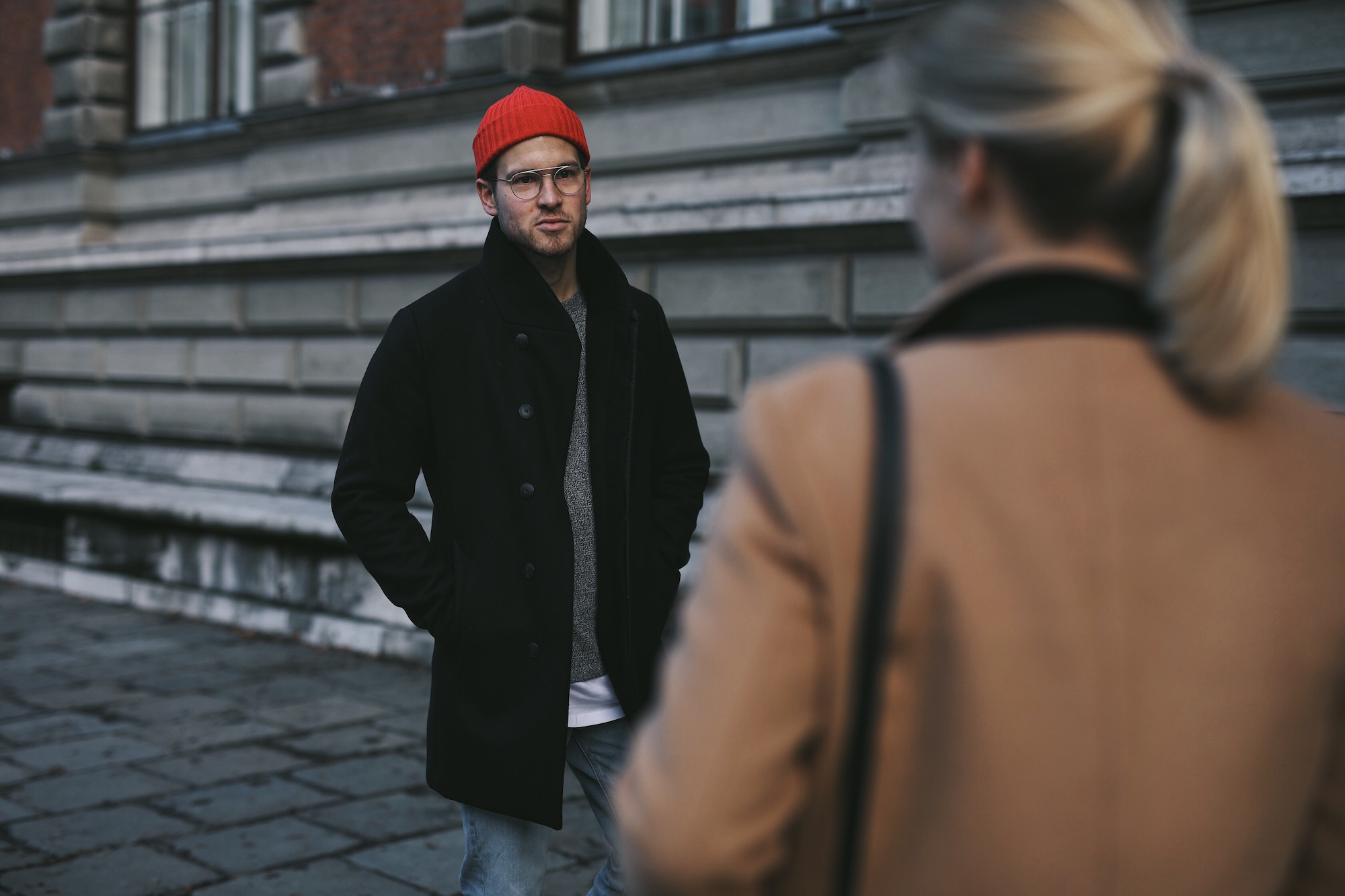 Jack and Jones Premium Mantel_Casual Sundays_Red Beanie_Meanwhile in Awesometown_Austrian Mens Fashion Blogger_Maleblogger_Wiener Blogger_Maennerblog5