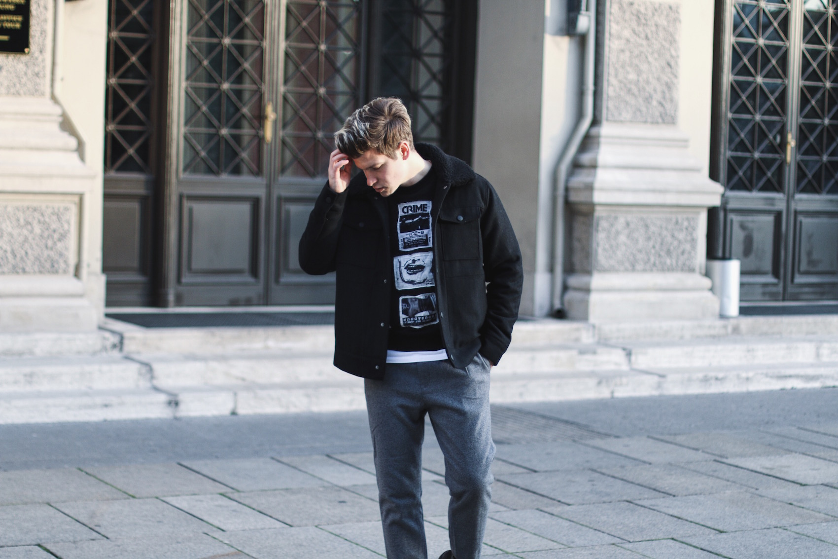 Weekday Jeans Winter Outfit_Streetstyle Herrenmode_Meanwhile in Awesometown_Männnerblog_Menswear_Lifestyleblog_Maleblogger_Maleinfluencer4