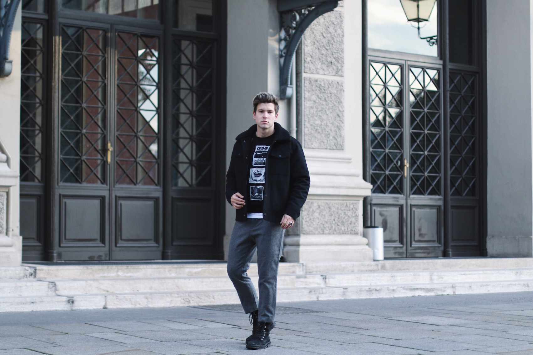 Weekday Jeans Winter Outfit_Streetstyle Herrenmode_Meanwhile in Awesometown_Männnerblog_Menswear_Lifestyleblog_Maleblogger_Maleinfluencer7
