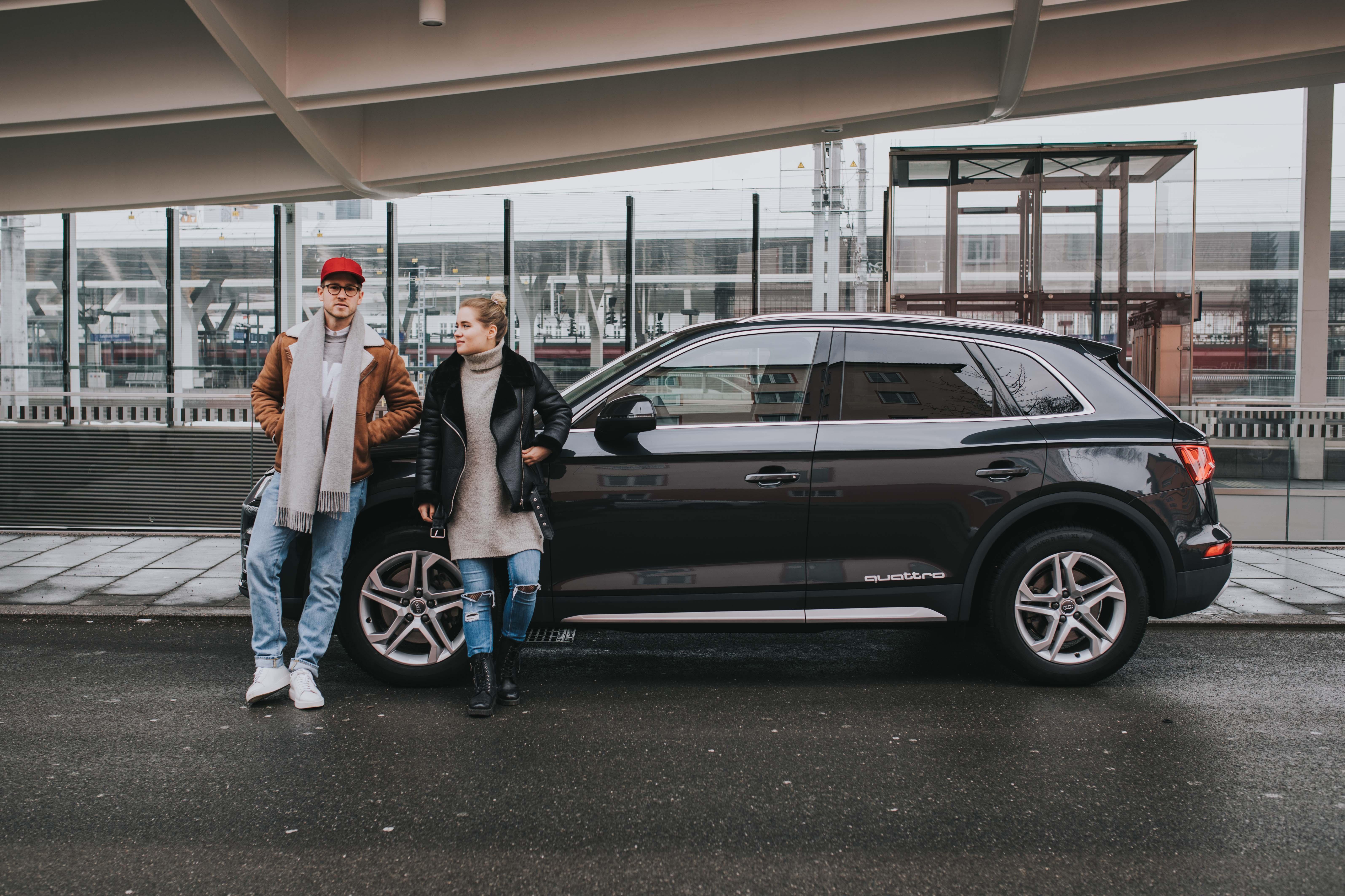 Audi Quattro Roadtrip zum Ice Camp und Tauern Spa
