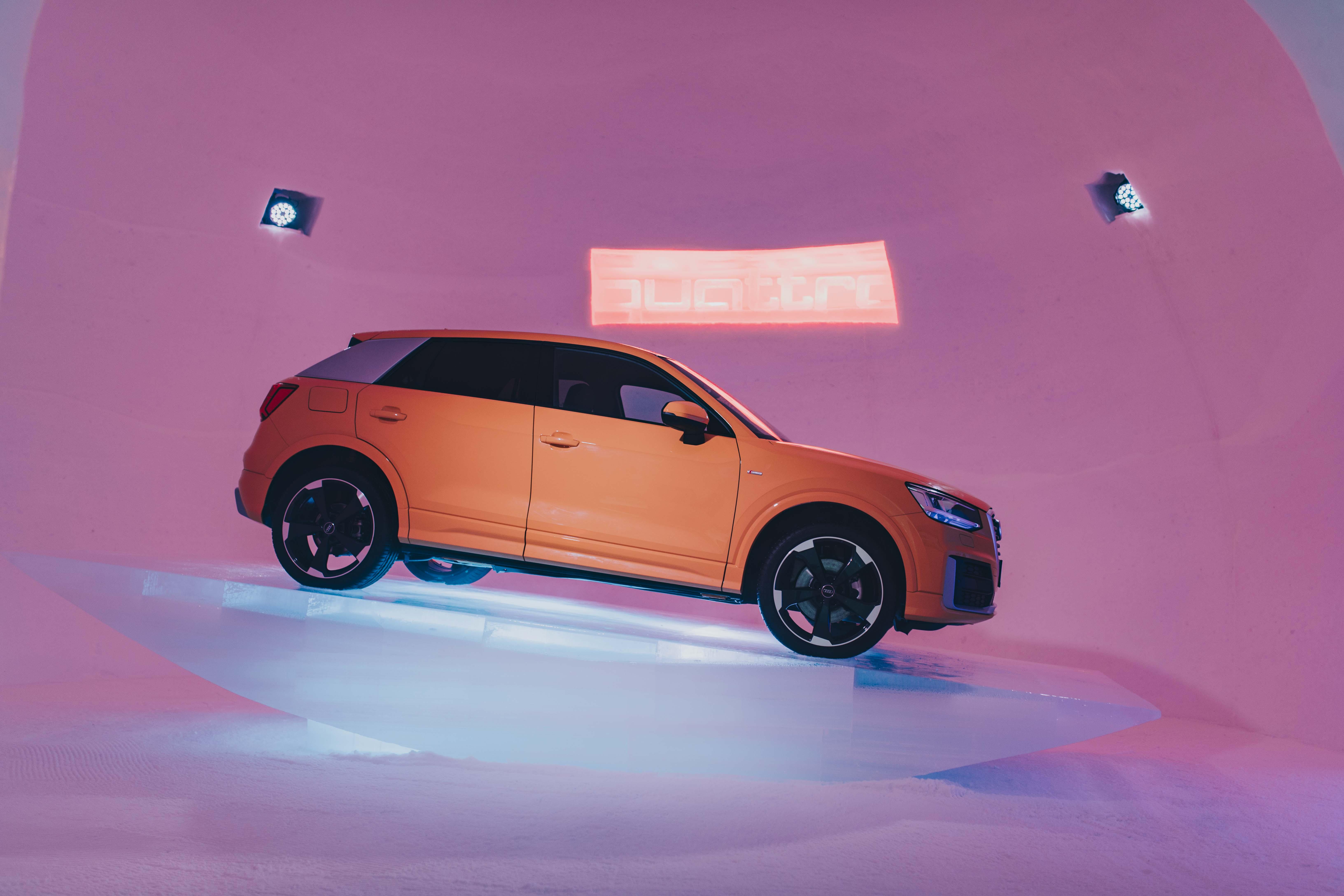 Audi Quattro Roadtrip zum Ice Camp und Tauern Spa 13