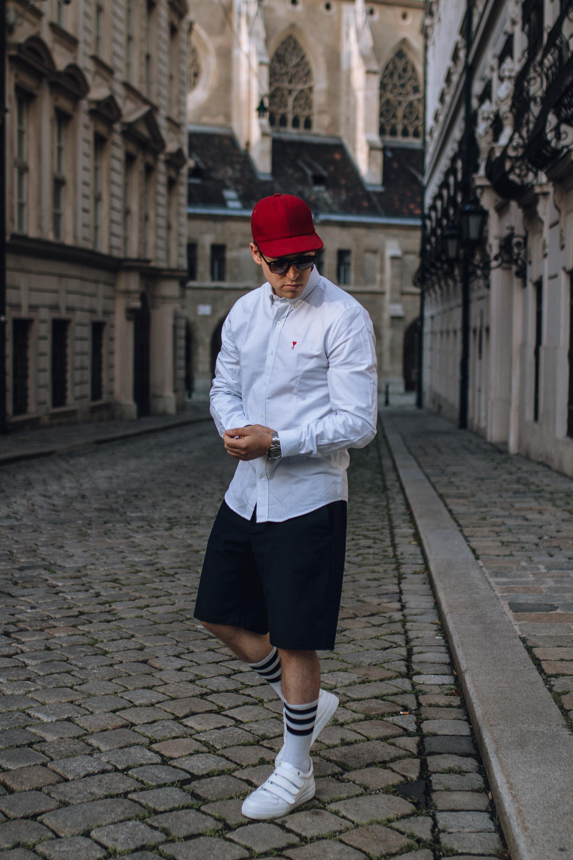 Casual Chic Mit Shorts Und Shirt Sag Ja Zu Kurzen Hosen