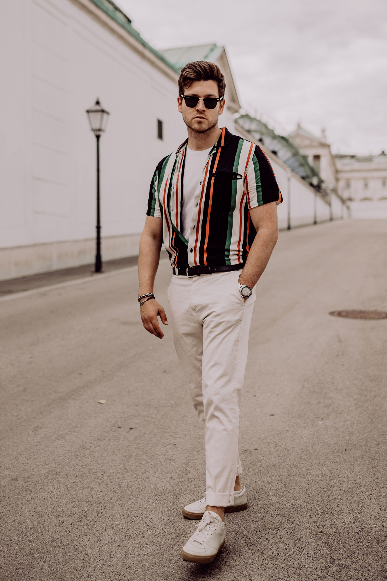 Striped Shirt - Summer Outfit Men - Sommerlook fuer